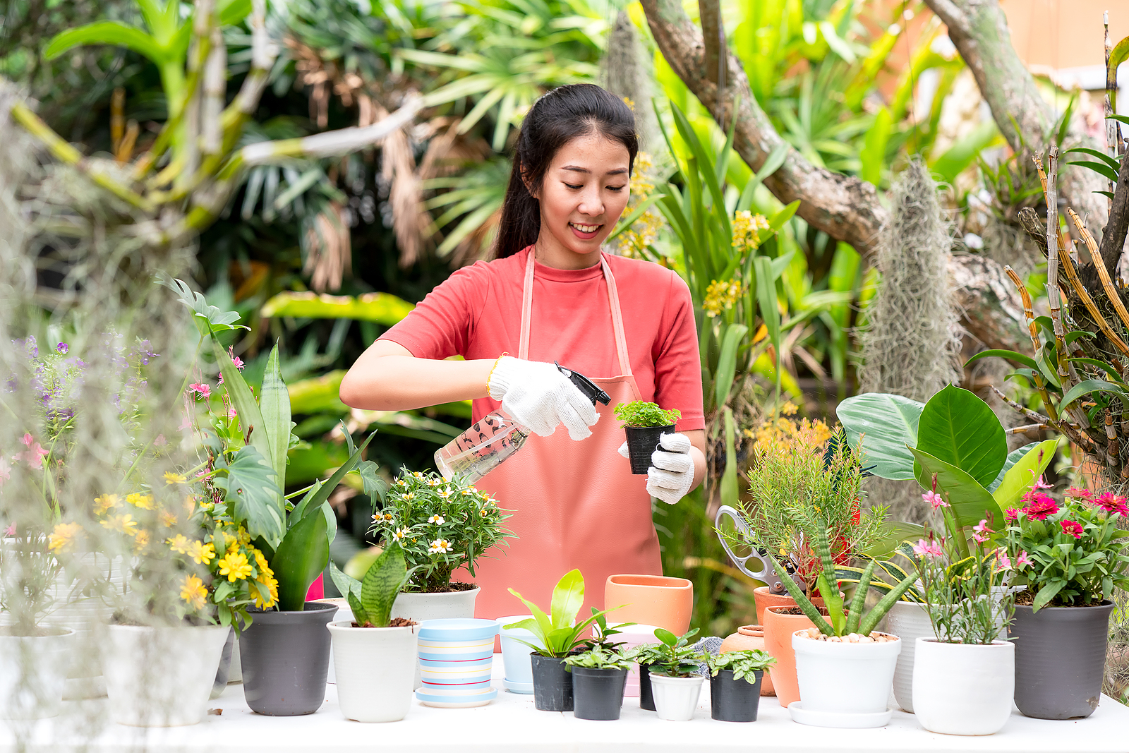 Gardening helps you stay mentally and physically fit
